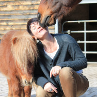 Kathrin Renee Schüpbach Schaefer Mit Pferden