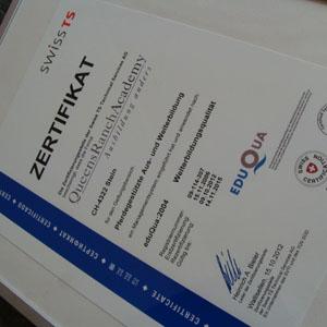queensranchacademy zertifikat